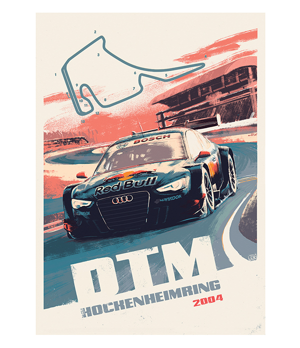Posters For Audi Sport R8 Mailing On Pantone Canvas Gallery