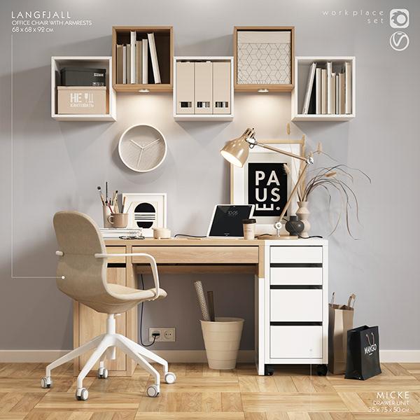 IKEA W O R K Z O N E