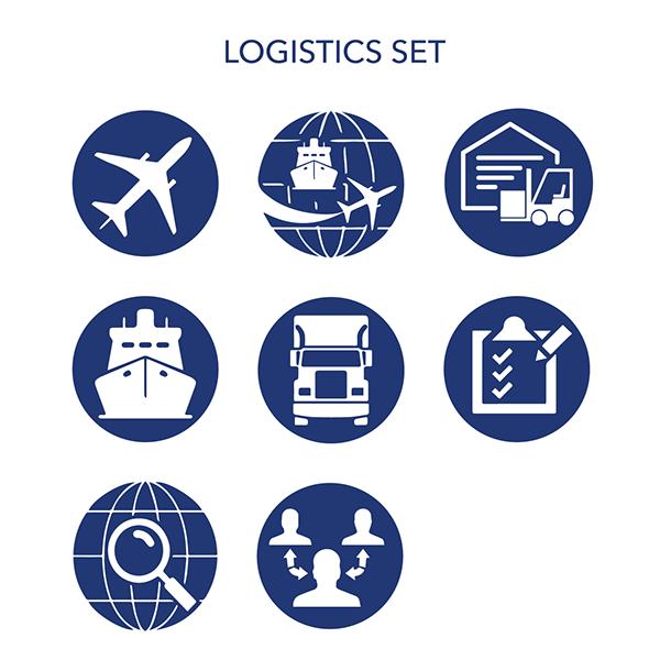 Logistics Icon Set On Behance