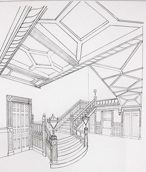 Technical Hand Drawings | Spring 2011 on PhilaU Portfolios