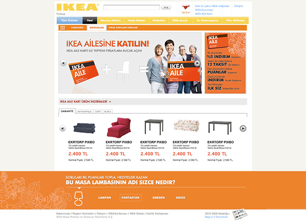 ikea family card website on behance. Black Bedroom Furniture Sets. Home Design Ideas