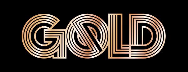 GOLD Font on Behance