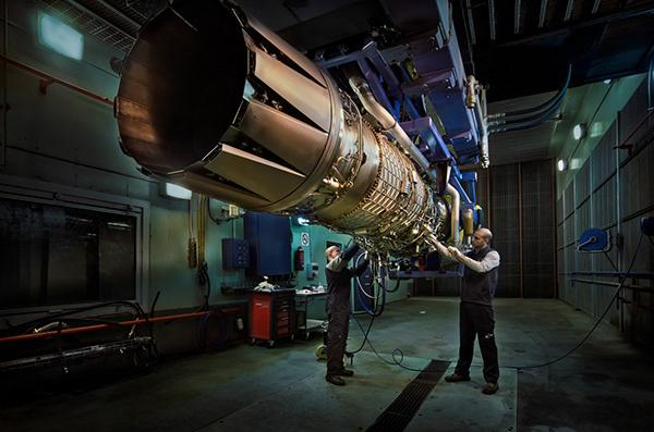 Industrial Photography Aeronautics engines