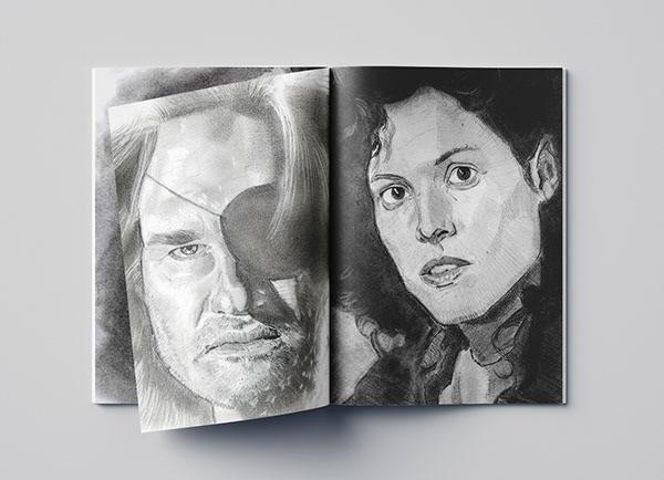 Hand drawn 3