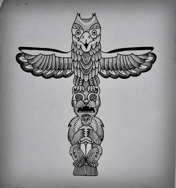 Totem Tattoo On Behance