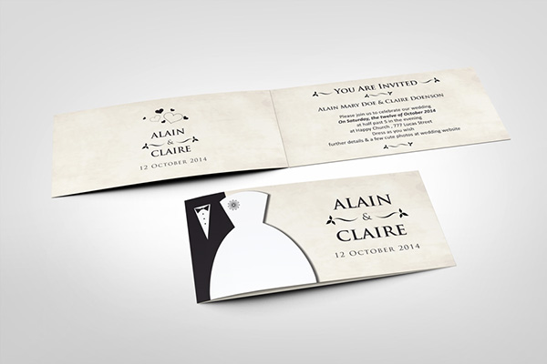 Wedding Invitation Card V3 On Behance