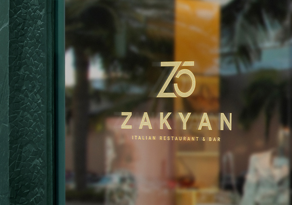 Zakyan 5   Logo • Branding