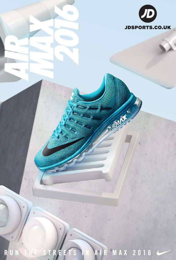 Nike Air Max 2016 Run the Streets in Air Max on Behance