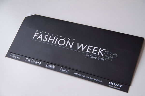 Fashion Week Invites Ads for Human Kashieca Bench on Behance