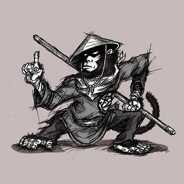 Monkey Warriors