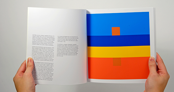 josef albers color theory interaction cube Transparency spectrum Education Dimentional light color theory color relationships book poster
