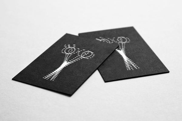 Barber's business card concept on Behance
