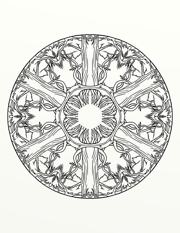 32 Mandala Harry Potter - Besten Bilder von ausmalbilder