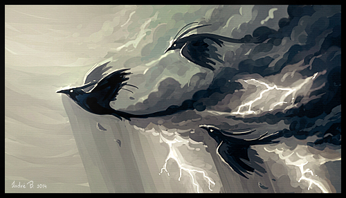 Stormbringers by Indr� Bankauskait�