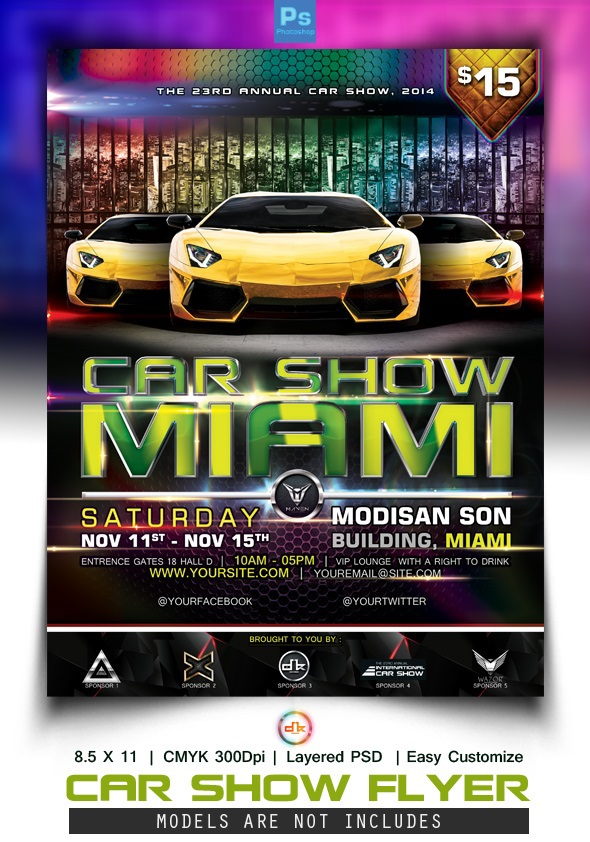 Car Show Flyer Backgrounds Related Keywords Amp Suggestions Car Show - Car and bike show flyer template