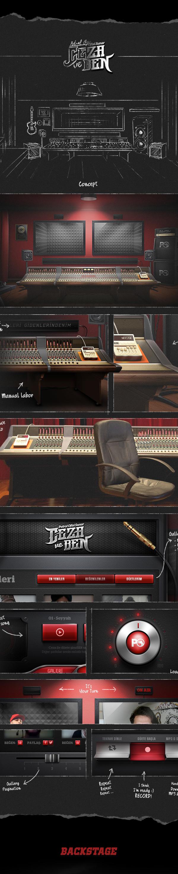 ceza  studio record rap hiphop petrol ofisi petrol ofisi duet featuring feat Music Studio