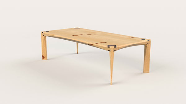 Dovetail Coffee Table On Behance