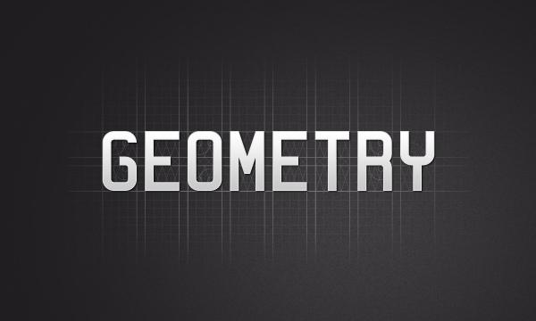 GEOMETRY Font on Behance