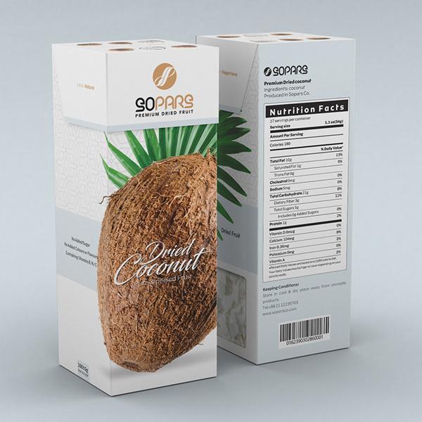 Premium Dried Fruit Box Package Design