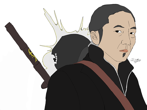 Hiro Nakamura Future Sketch of Future Hiro Nakamura