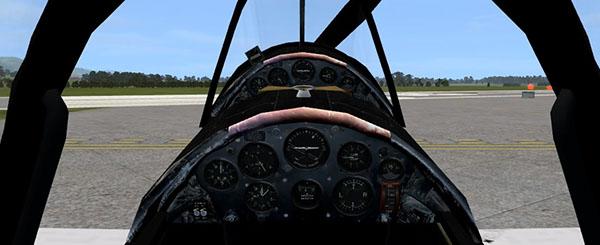 DHC-1 Chipmunk Portuguese Air Force - Texture FSX on Pantone
