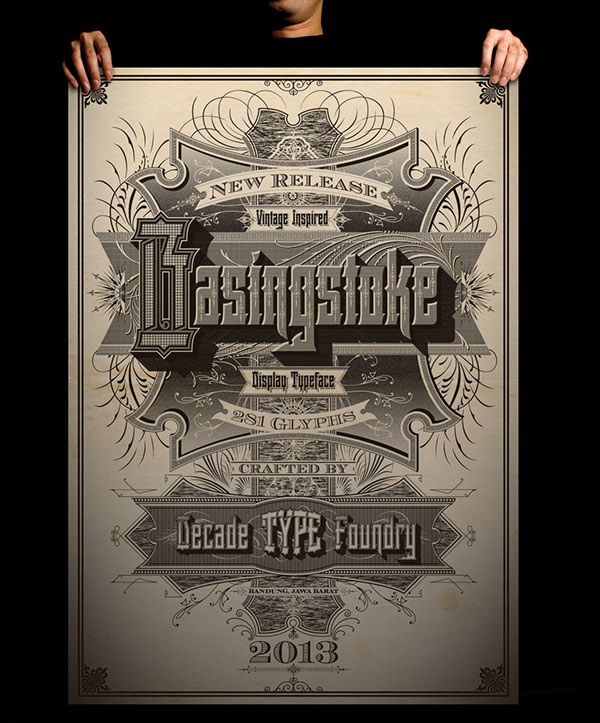Basingstoke Poster on Behance