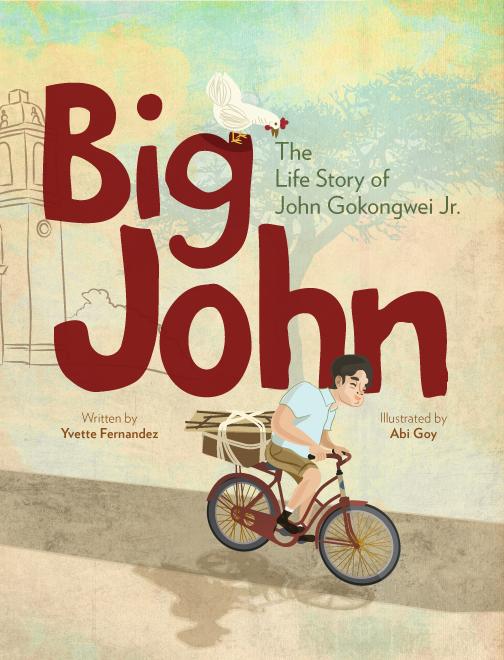 Big John john gokongwei gokongwei Picture book Dream BIG dream big books Summit Books abi goy ILLUSTRATION  children's book