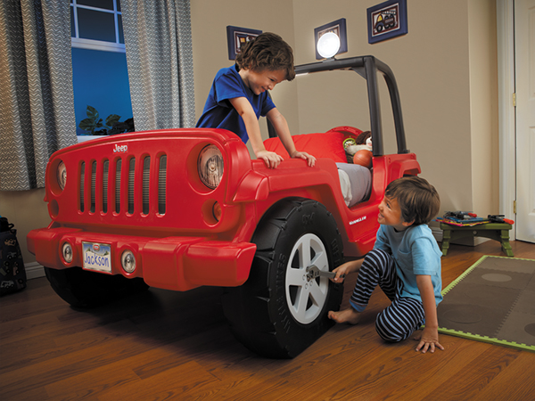 Little Tykes Jeep Bed
