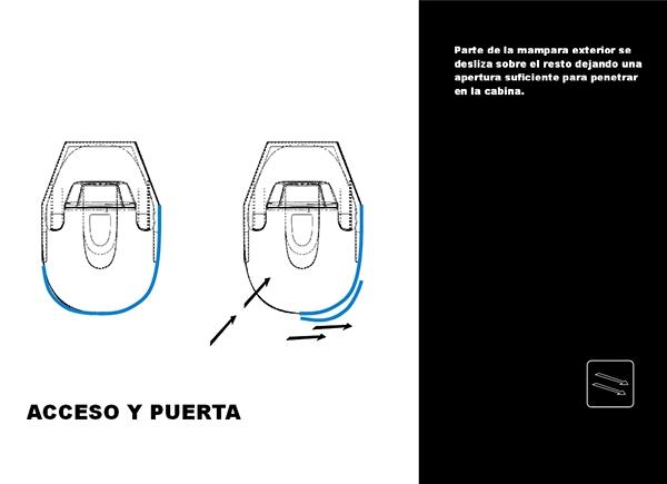 Manual de cabina de ba o autolimpiable on behance - Cabina de bano ...