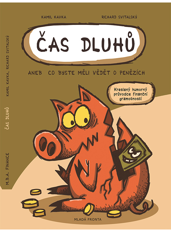 comics book svitalsky finance children kid piggy bank komiks kniha