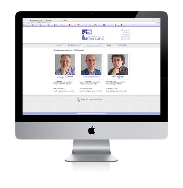 Assurances Carrein - Website