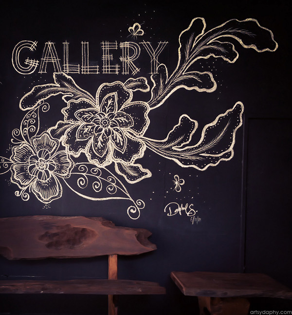 Batik Flower Mural On Behance