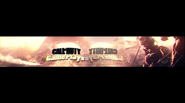 Youtube Banner For Call Of Duty