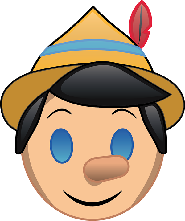 Pinocchio Emoji On Behance