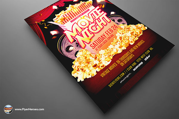 Night Flyer Template On Behance