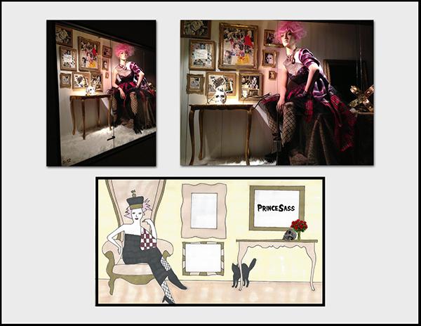window design punk couture