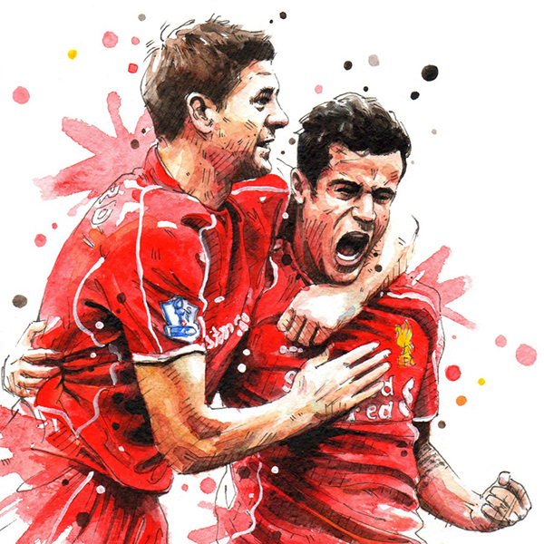 Cartoon Pictures Of Liverpool Players