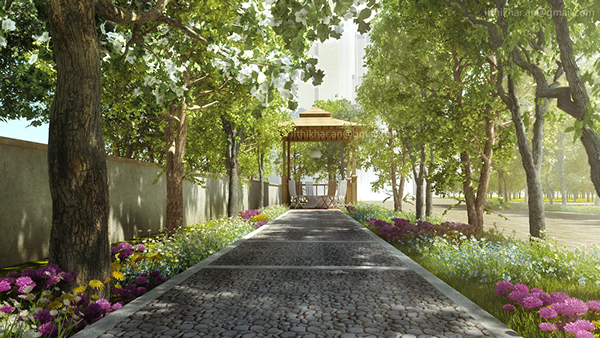 Contemporary Landscape Designs Vray Multiscatter On Behance