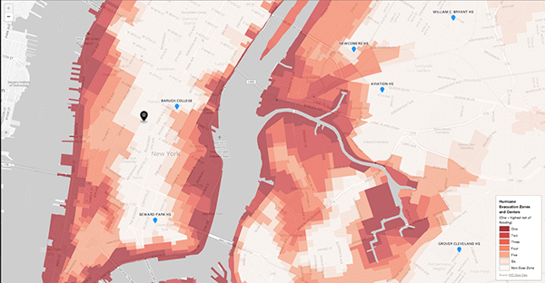 Interactive Map Of New York City.Interactive Maps On Behance