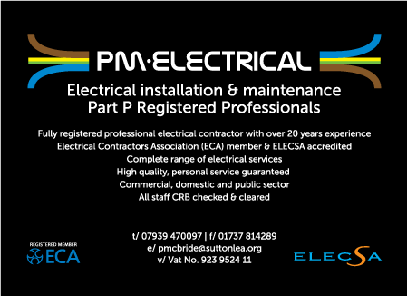 PM Electrical Services Logo Design