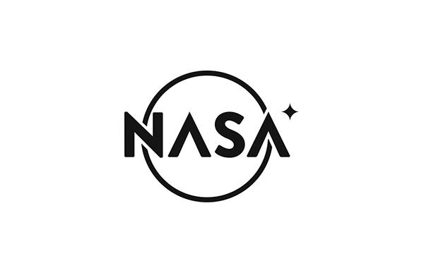 nasa logo redesign concept school Space  vynson