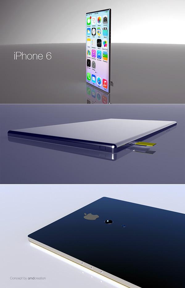 iPhone6 amdcreation  concept Maya 3D