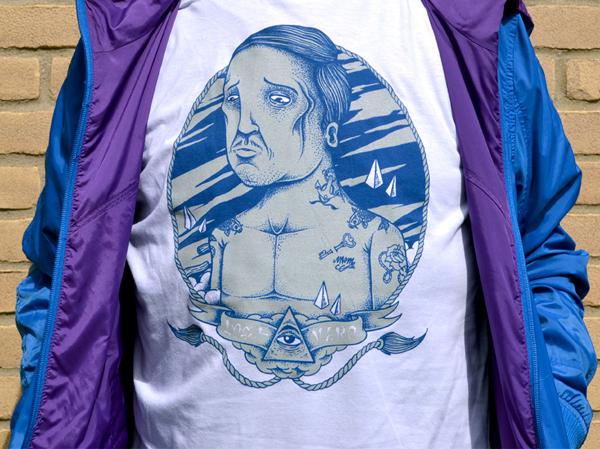 art watercolor screenprint streetart tshirt brand