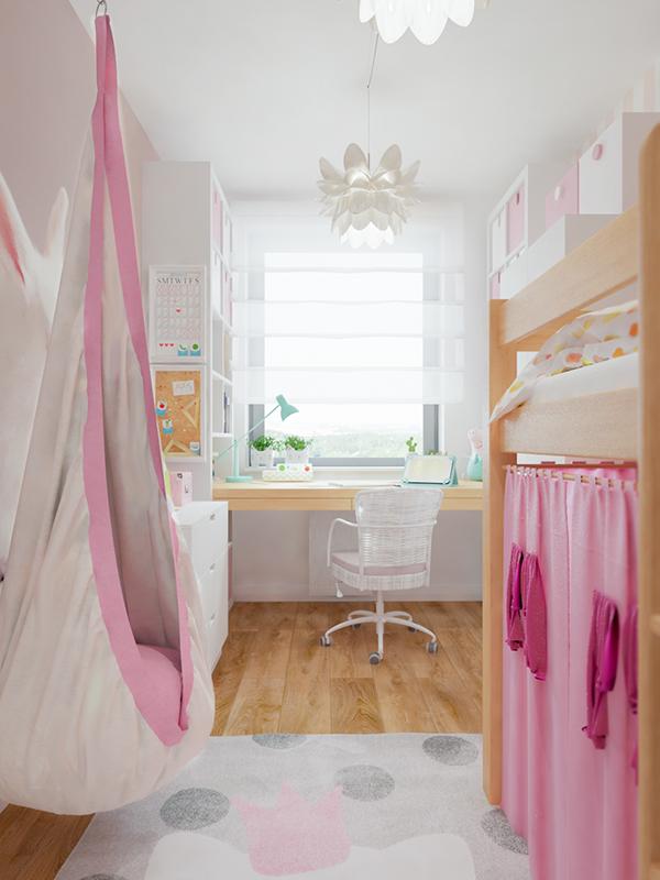 高質量的18款粉紅色房間欣賞