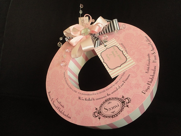 Baby Announcement Macaroon Box on Behance – Baby Announcement Boxes