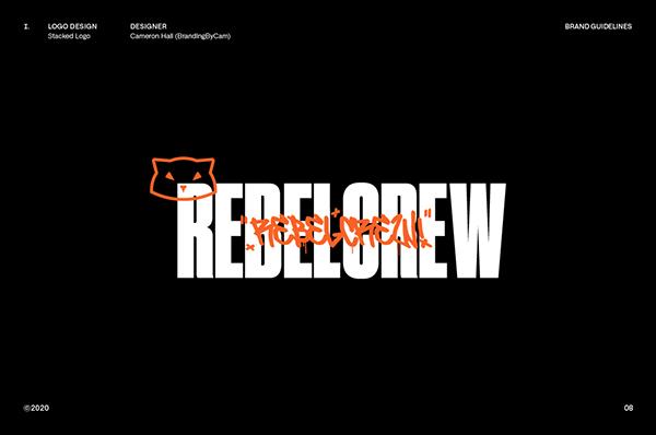 RebelCrew© | Brand Styleguide