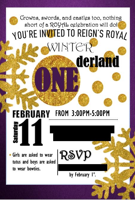 Winter Onederland Birthday Invitation On Behance