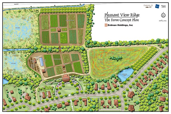 Pleasant view ridge community and farm middleton wi on for 2 acre farm layout