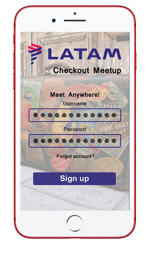 UX/UI Design APP - Latam Checkout Meetup on Behance