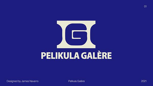 Pelikula Galère | Logo Design Concept Project